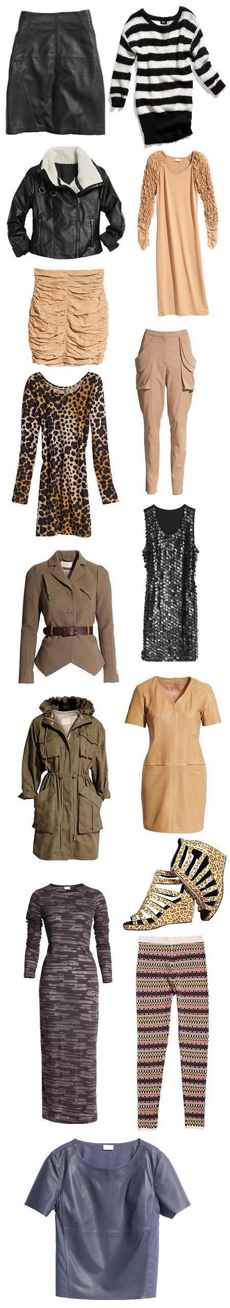 H&M moda otoño invierno 2010 2011