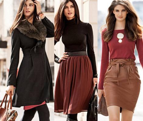 H m oto o invierno 2011 2012 demujer moda for Look oficina otono 2017
