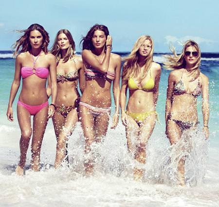 Bikinis y bañadores de H&M, primavera verano 2010