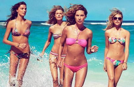 Bikinis y bañadores de H&M, primvera verano 2010