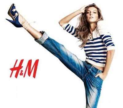 H&M primavera 2010, moda y ropa navy