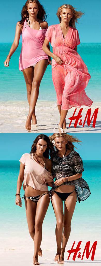 H&M catálogo verano 2011
