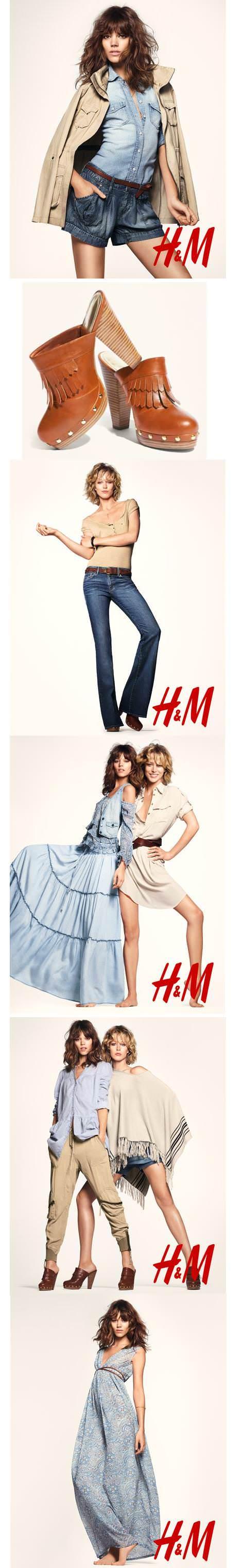 H&M spring awakening 2011