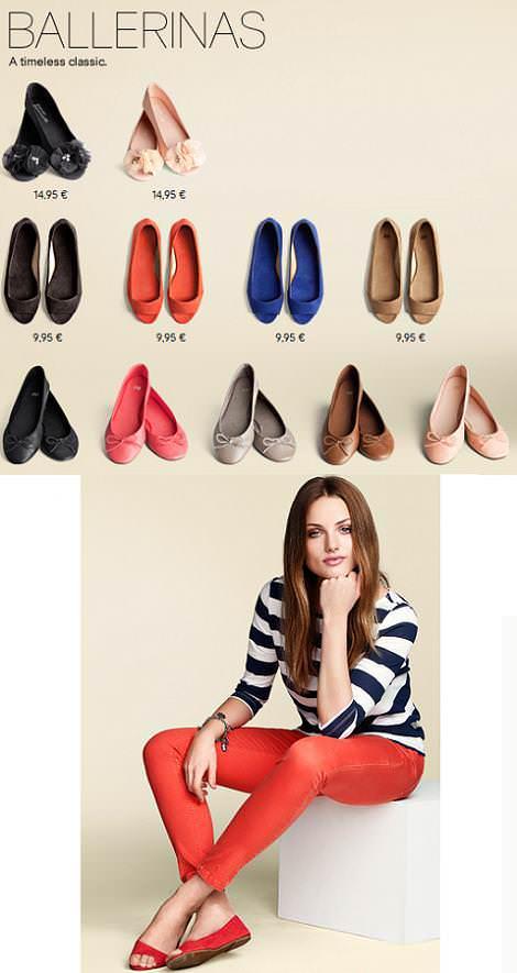 Zapatos H&M primavera 2011