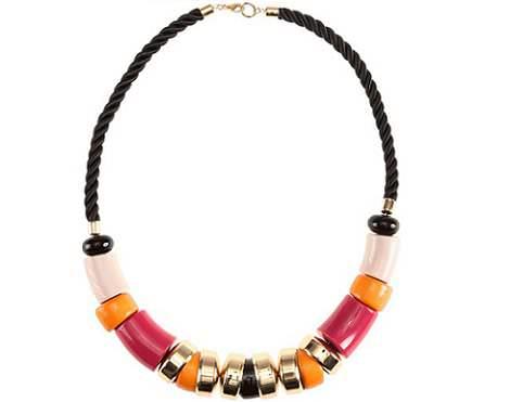 accesorios de hm primavera 2012 collar colores