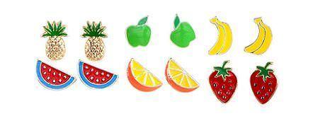accesorios de hm primavera 2012 pendientes frutas