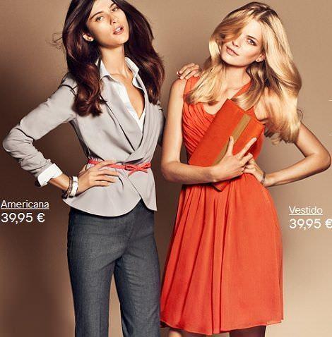H&M clasicos naranja