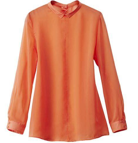camisa coral de hm primavera 2012