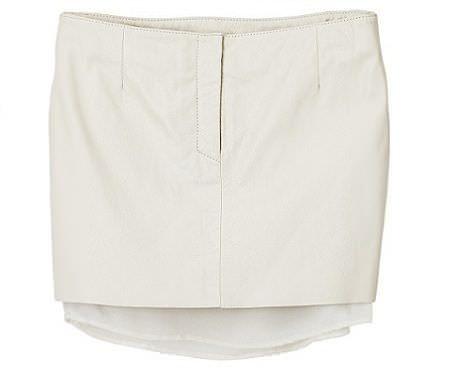 falda blanca de hm primavera 2012