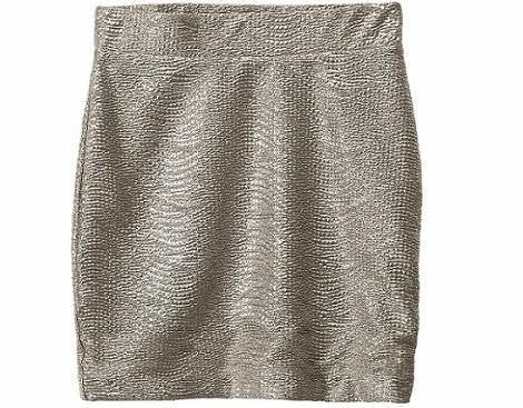 falda brillo de hm primavera 2012
