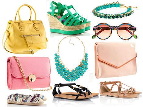 H&M primavera verano 2012 bolsos y accesorios