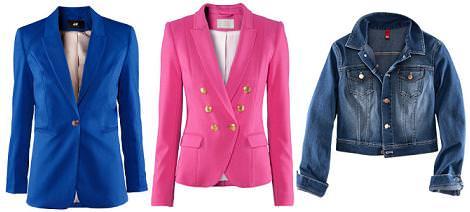 H&M primavera verano 2012 chaquetas y cazadoras