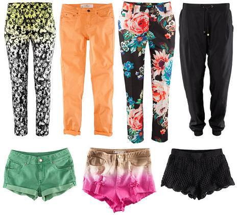 H&M primavera verano 2012 pantalones