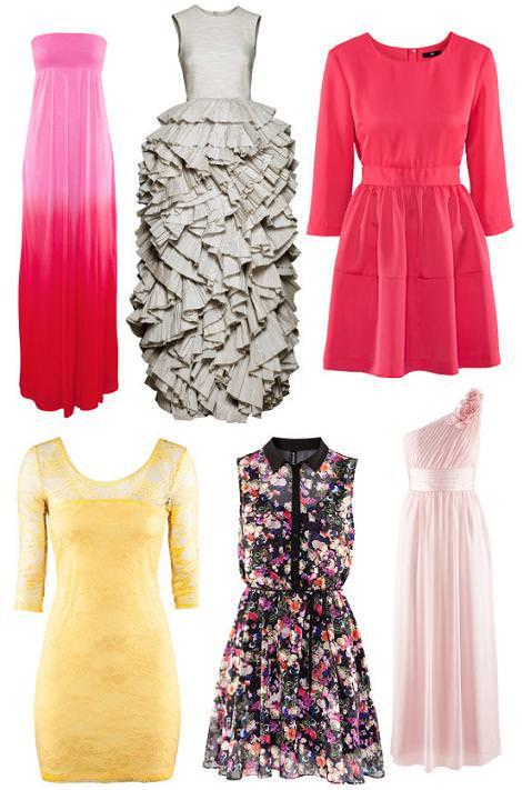 H&M primavera verano 2012 vestidos