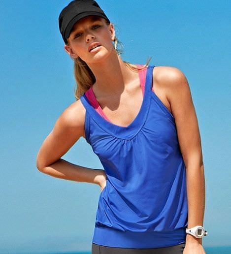 hm ropa de deporte camiseta azul