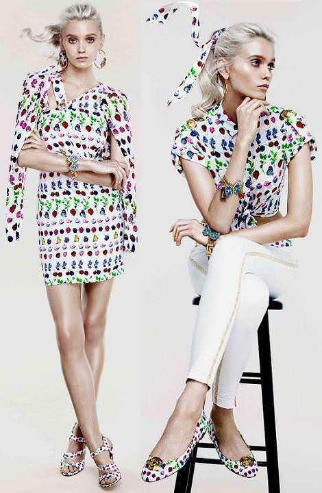 Versace HM primavera 2012 estampados