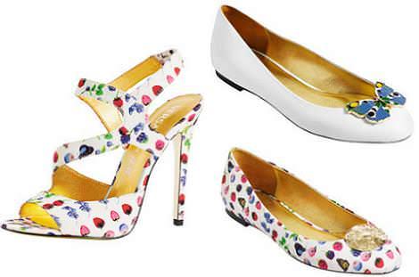 Versace HM primavera 2012 zapatos