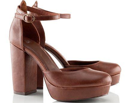 zapatos de hm primavera 2012 sandalias marrones