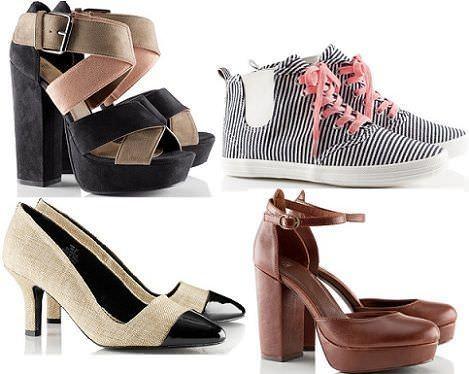 zapatos de hm primavera 2012