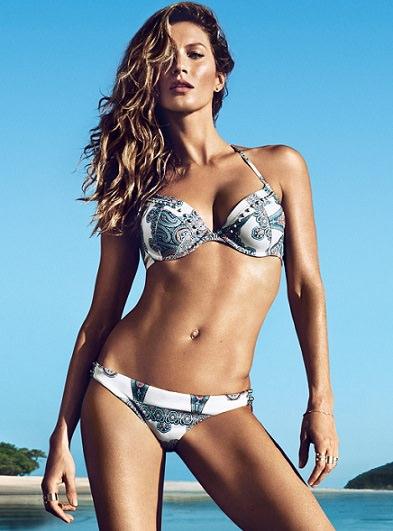 catalogo de H&M con Gisele Bundchen verano 2014