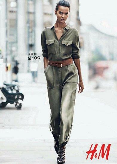 monos de vestir de H&M otoño invierno 2014 2015
