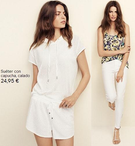 ropa blanca de H&M verano 2014