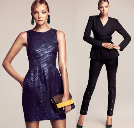Ropa de fiesta de H&M otoño invierno 2012 2013