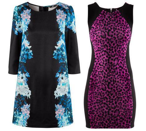 Vestidos de H&M otoño invierno 2012 2013