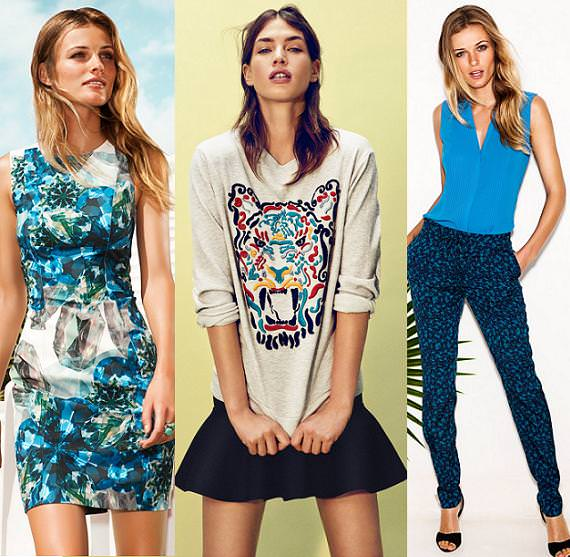 H&M moda primavera verano 2013