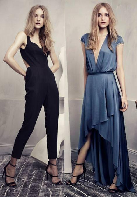 Ropa y vestidos de fiesta de H&M primavera verano 2013