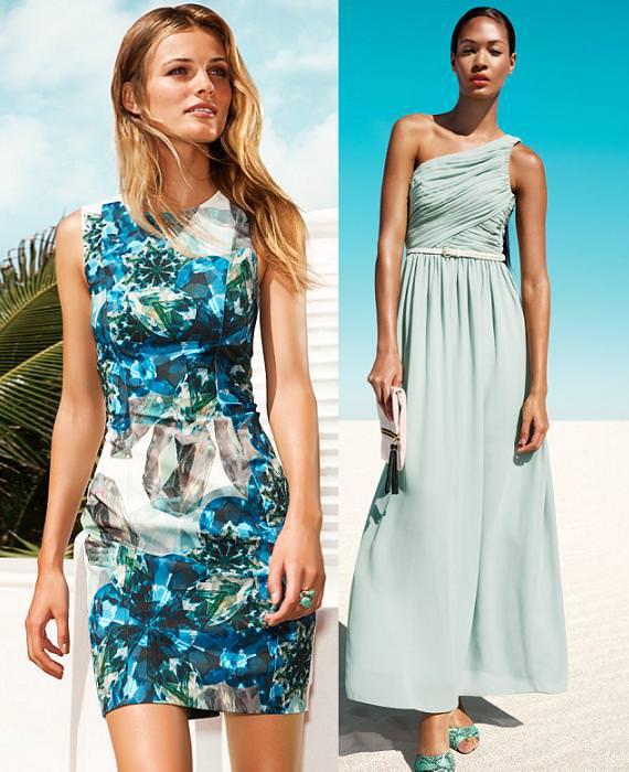 mayor descuento venta minorista verdadero negocio H&M vestidos de fiesta primavera verano 2013 | demujer moda