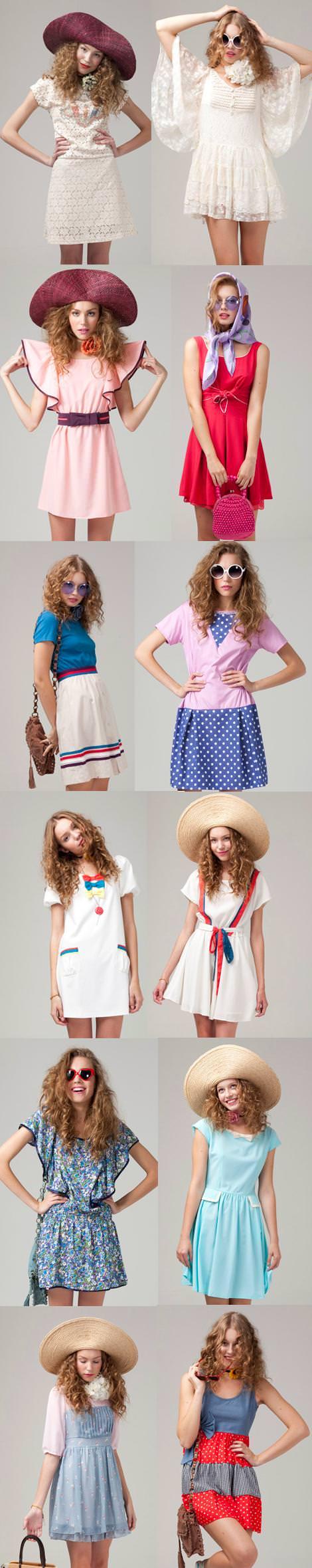Vestidos de Kling primavera 2011