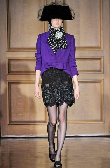 Christian Lacroix, alta costura, moda otoño invierno 2009 2010