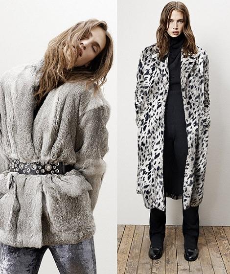 abrigos de pelo de Maje otoño invierno 2014 2015