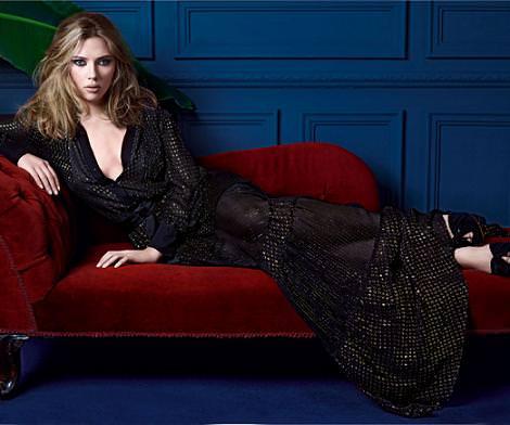 Scarlet Johansson para Mango: Looks y vestidos de fiesta (otoño invierno 2010 2011)