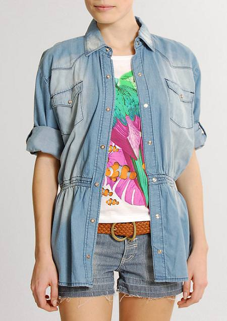 Tendencias primavera 2010: look DENIM