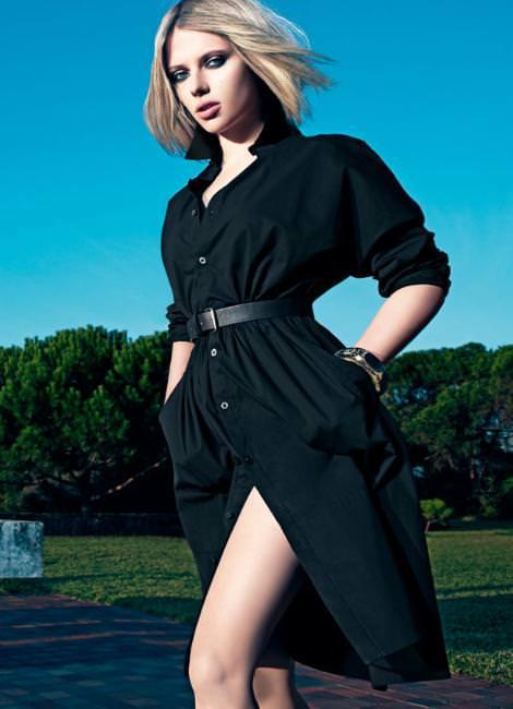Catálogo Mango primavera 2011 con Scarlett Johansson