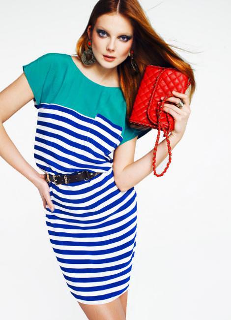 Catálogo Mango: Color and Stripes