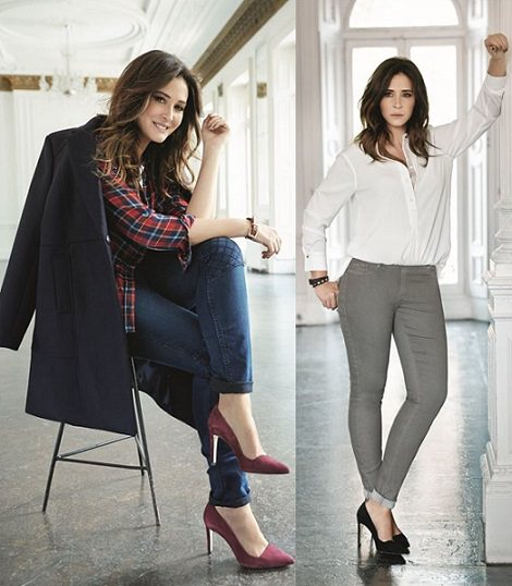 jeans violeta by mango otoño invierno 2014 2015