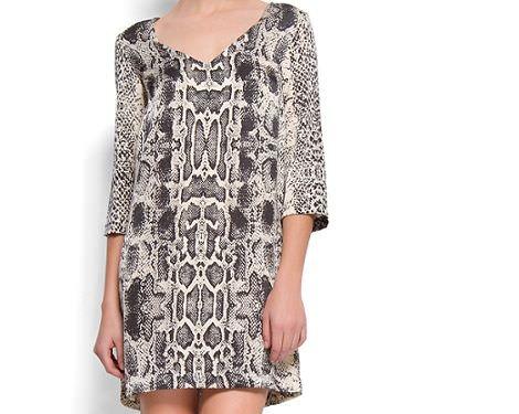 vestido piton de mango primavera 2012