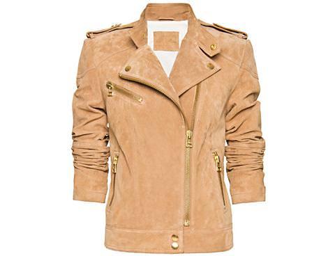 La nueva colección de Mango para la primavera 2012, cazadora motera