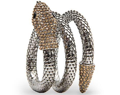 La nueva colección de Mango para la primavera 2012, pulsera serpiente