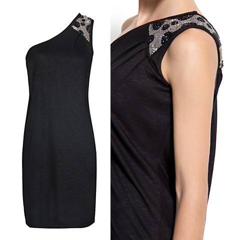La nueva colección de Mango para la primavera 2012, vestido asimétrico