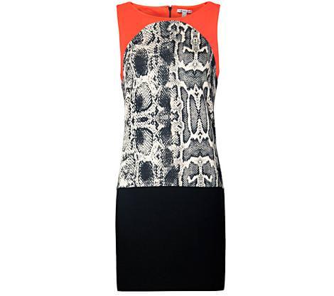 La nueva colección de Mango para la primavera 2012, vestido serpiente