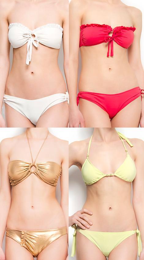 Bikinis Mango 2012 colores