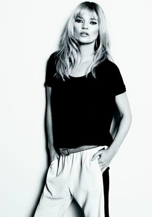 Kate Moss imagen de Mango para la primavera verano 2012