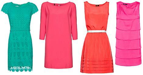 Vestidos de Mango primavera verano 2012 colores
