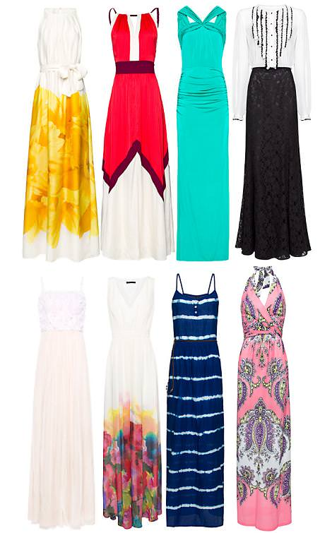 Vestidos de Mango primavera verano 2012 largos