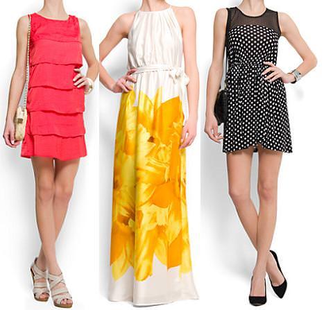 Vestidos de Mango primavera verano 2012