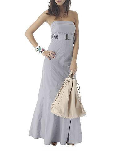 vestido largo de Mango verano 2009